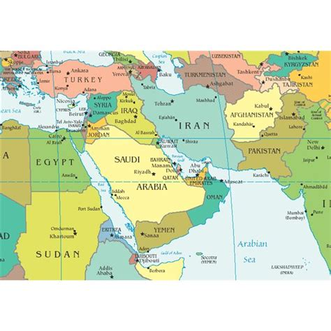 Facts About Capitals of the Middle East Countries