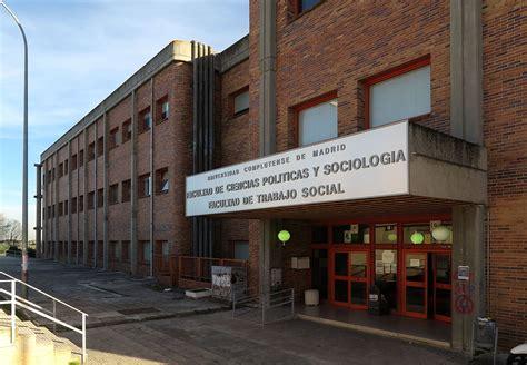 Facultad de Trabajo Social (Universidad Complutense de ...