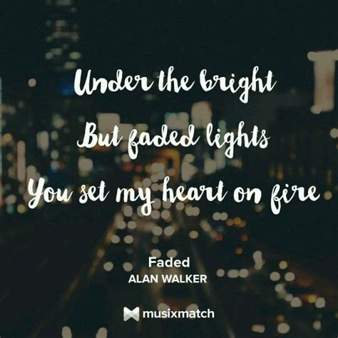 FADED - Alan Walker | Song Lyrics | Pinterest | Alan walker