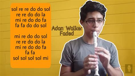 Faded notas de flauta | Alan Walker - YouTube