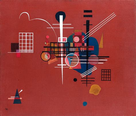 Fájl:'Dumpfes Rot, No.400' by Wassily Kandinsky, 1927.jpg ...