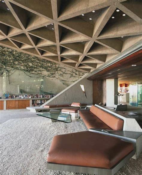 Falso techo de diseño moderno - cincuenta modelos