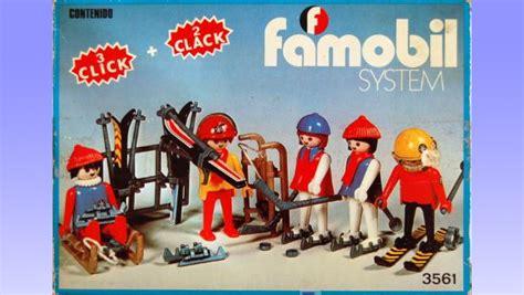 Famobil, la marca original de Playmobil que acabó siendo ...