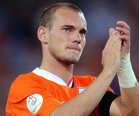 Famous football player of Inter Milan FC: Wesley Sneijder ...