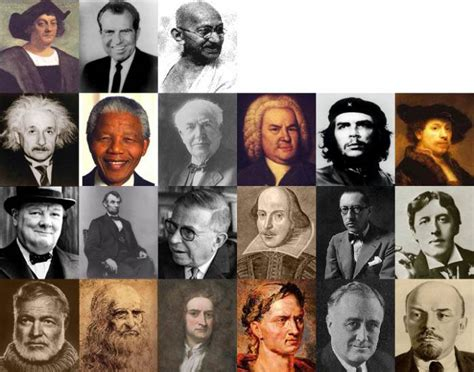 Famous People from History