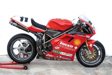 Fancy owning Troy Corser's Ducati 996 RS WSB bike?   MCN