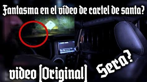 Fantasma en el video de cartel de santa? Misterio? O ...