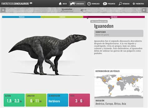 Fantásticos dinosaurios, la mayor aplicación de ...