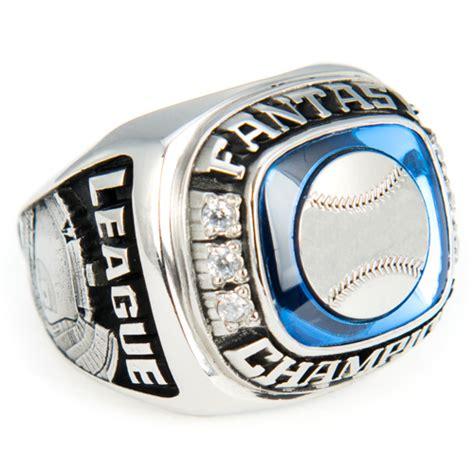 Fantasy Baseball Dynasty Ring - White Lazon
