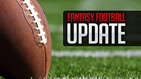 Fantasy Football Update « CBS Local Sports