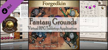 Fantasy Grounds - Forged Kin (Token Pack) on Steam