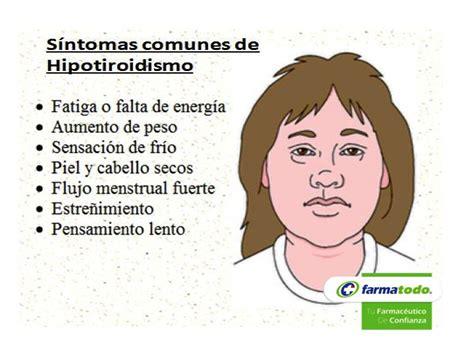 FARMACIA ¿Cuáles son los síntomas del hipotiroidismo? Los ...