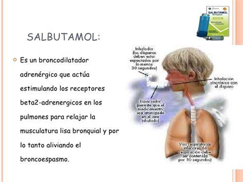 Farmacos broncodilatadores vademecum - Farmacia