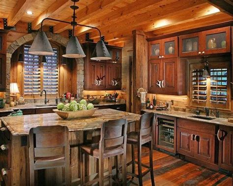 Farmhouse style kitchen   Rustic Decor Ideas   kitchen