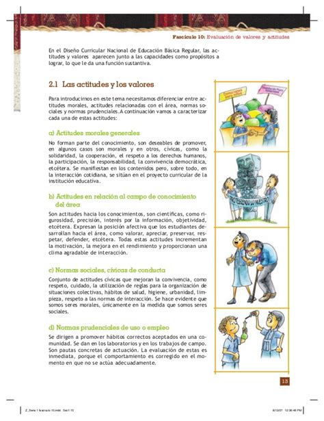 Fasciculo 10 evaluación de valores y actitudes