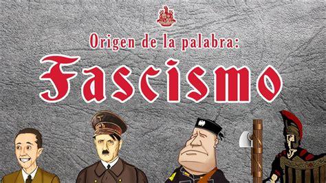 Fascismo: Origen de la palabra - Bully Magnets - YouTube
