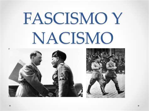 FASCISMO Y NACISMO