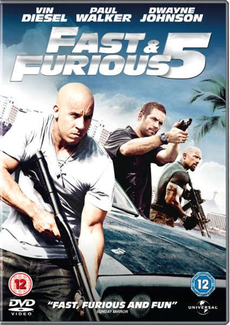 Fast and Furious 5 DVD | Zavvi