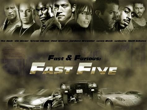 Fast and Furious 5 Wallpaper | Wallpaperholic