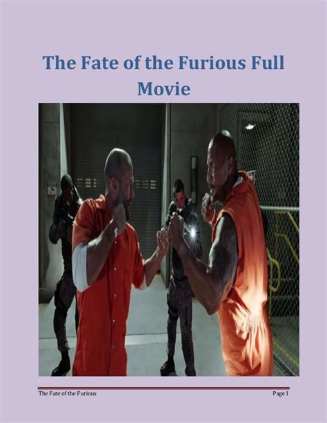 Fast And Furious 8 Full Movie Online