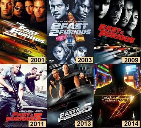 Fast and Furious Movies | UMR