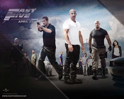 Fast & Furious 5 Wallpaper - Download