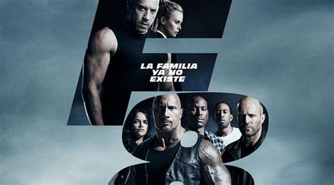 Fast & Furious 8 : Tráiler final y póster español... la ...