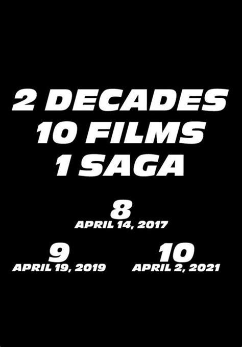 Fast & Furious 9  2019    FilmAffinity
