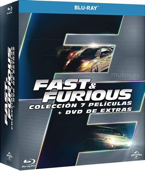 Fast & Furious - Colección 7 Películas Blu-ray