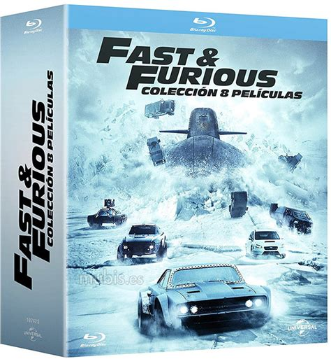 Fast & Furious   Colección 8 Películas Blu ray