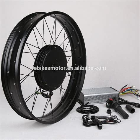 Fat Bike Kit 48v 1500w E Bike Electric Bicycle Conversion ...