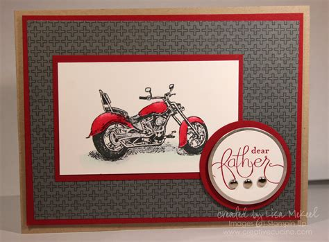 Father's Day Motorcycle Cards | Creative Cucina