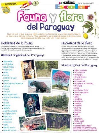Fauna y flora del Paraguay - Edicion Impresa - ABC Color
