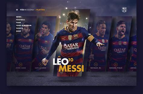 FC Barcelona on Behance