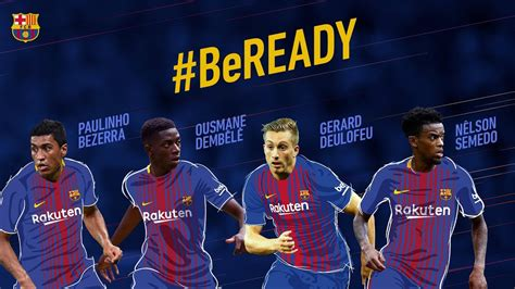 FC Barcelona's summer signings are ready for the 2017-18 ...