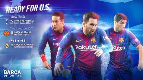 FC Barcelona to make 2017 preseason tour to the USA   FC ...