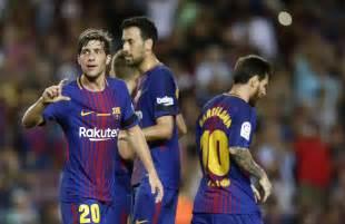 FC Barcelona triunfa en el primer juego de la Liga ...