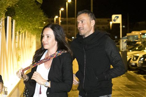 FCBarcelona WAGs on Twitter:  Luis Enrique and his wife ...