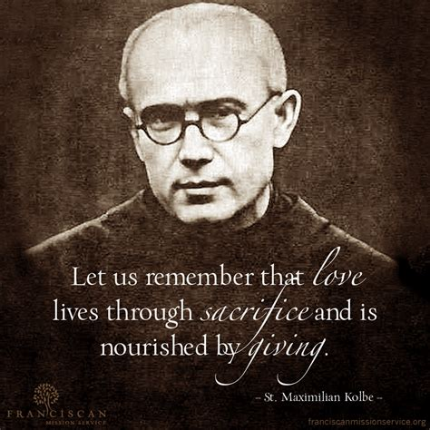 Feast Of St Maximilian Kolbe Martyr Of Auschwitz To Be ...