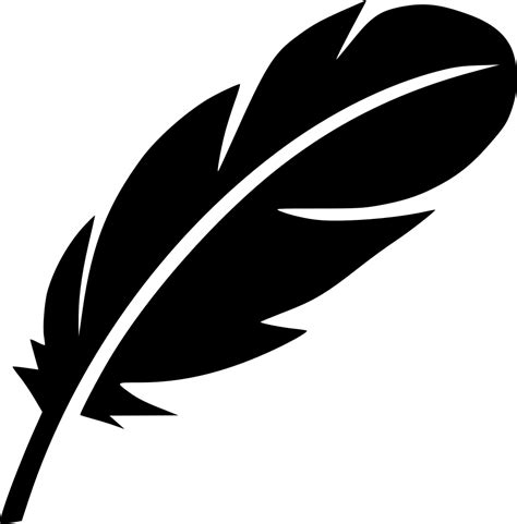 Feather Bird Writer Literature Drama Poem Pen Svg Png Icon ...