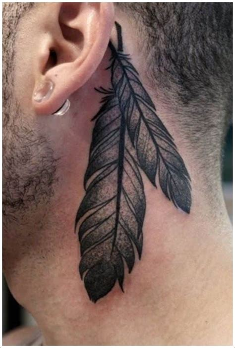 Feather Tattoos for Men - Ideas and Designs for Guys