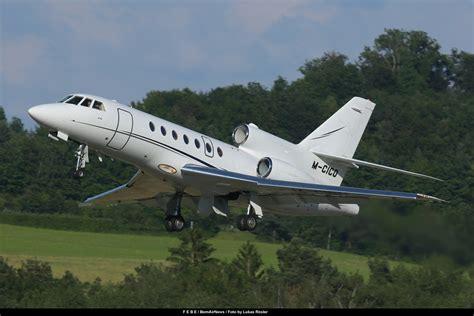 FEBE *** BernAirNews.ch ©: M CICO, Dassault Falcon 50, SEP16