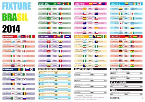 Fecha Partido Final Mundial Brasil 2014   Mundial