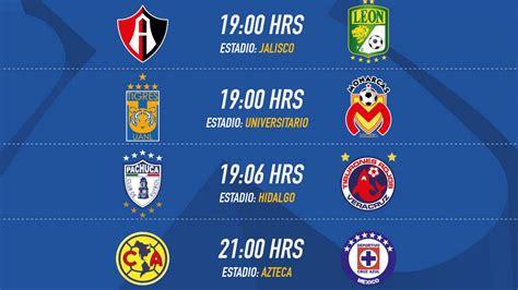 Fechas y horarios de la Jornada 8 del Clausura 2017 de la ...