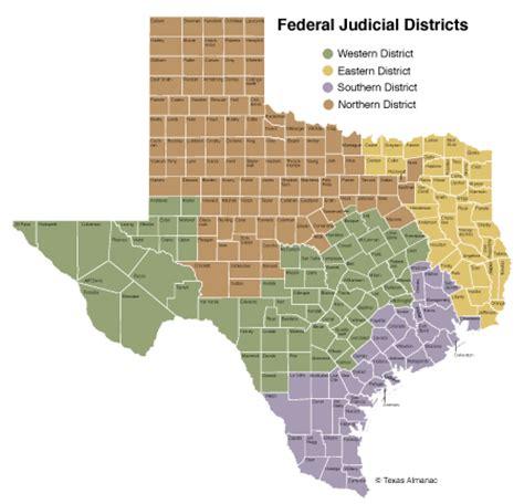Federal Courts in Texas | Texas Almanac