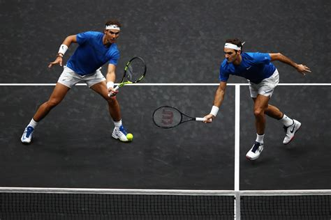 Federer and Nadal combine to take Europe closer to winning ...