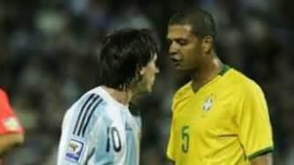 Felipe Melo calienta el Brasil-Argentina en Twitter - AS.com