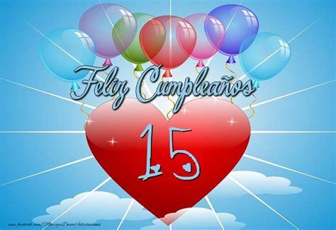¡Feliz Cumpleaños 15 años! Tarta ...