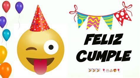 Feliz Cumpleaños EMOJIS Divertido, Gracioso, Para Reir y ...