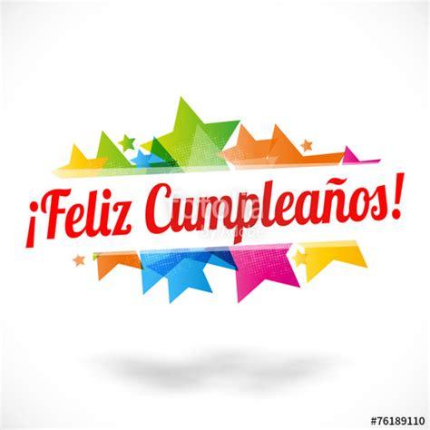 Feliz cumpleaños !   Stock image and royalty free vector ...